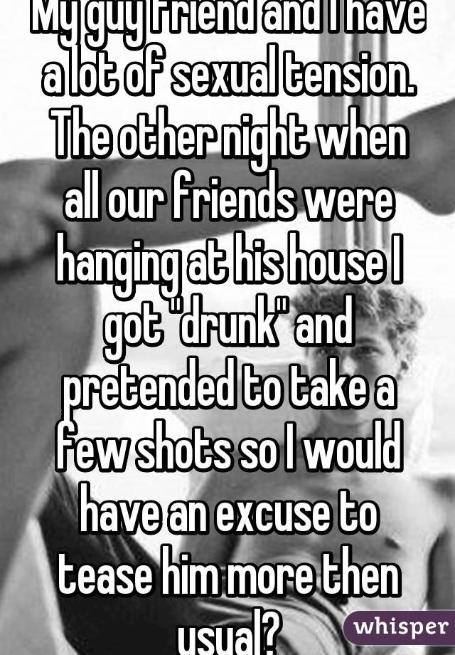 Sexual tension between gay friends