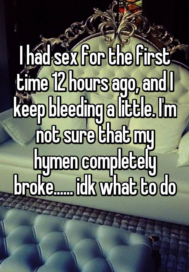 Little girls first time sex bleeding photos suggest you