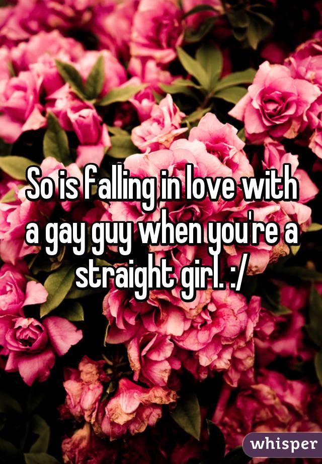 Gay falling in love