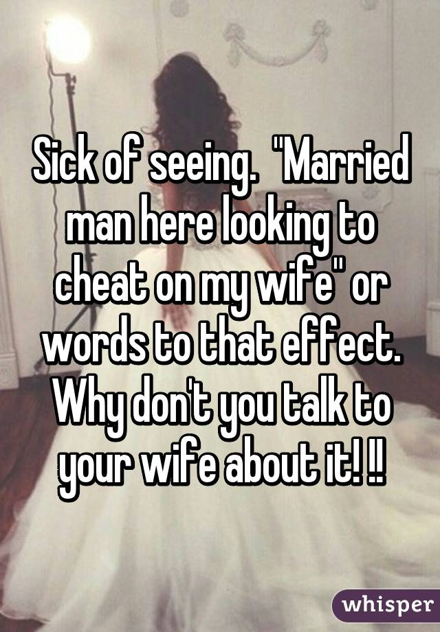 seeing a married man