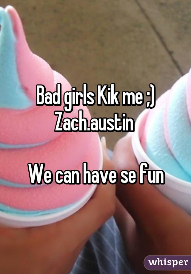 Fun girls on kik