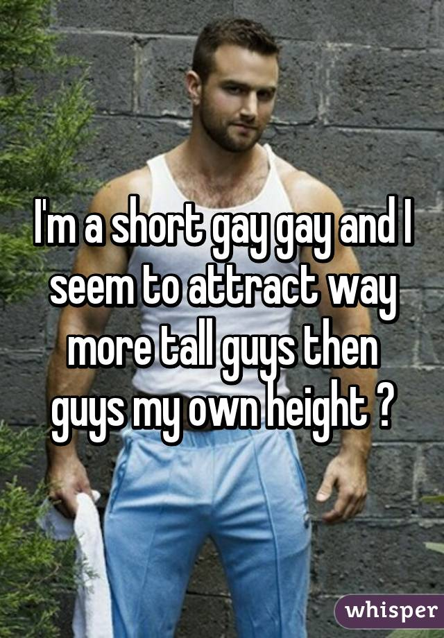 Tall gay guys