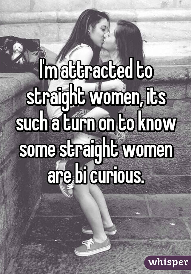 Straight Woman Attracted To A Woman
