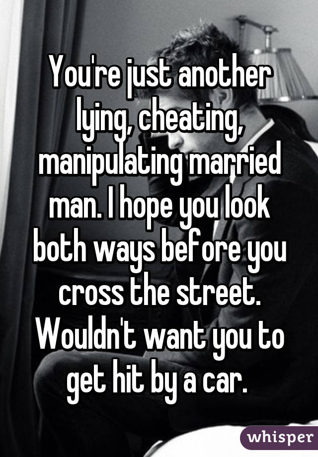 I Cheated With A Married Man
