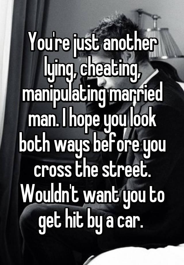 lying cheating men