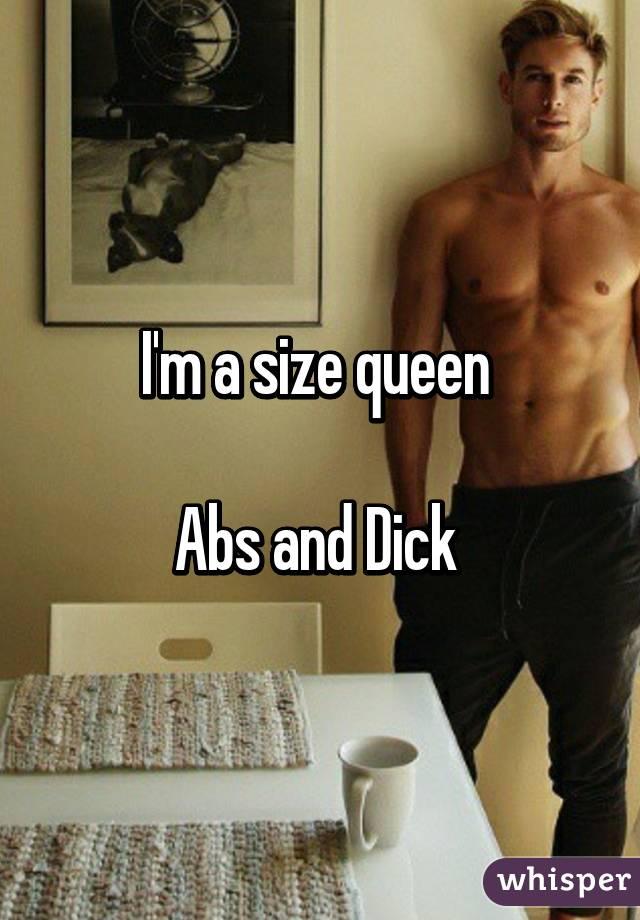 Size queen dick