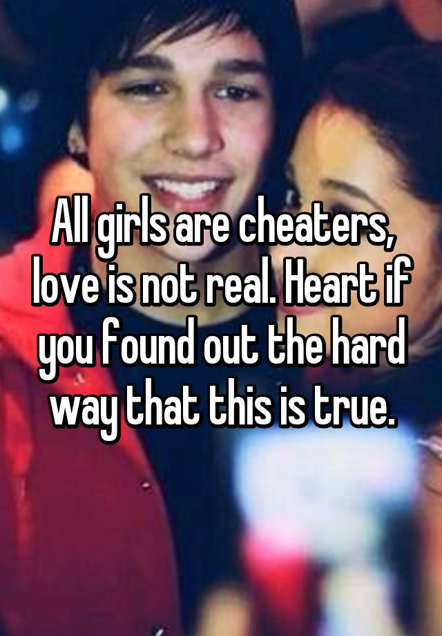 Cheaters is it real