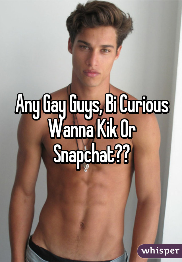 Hot gay guys kik