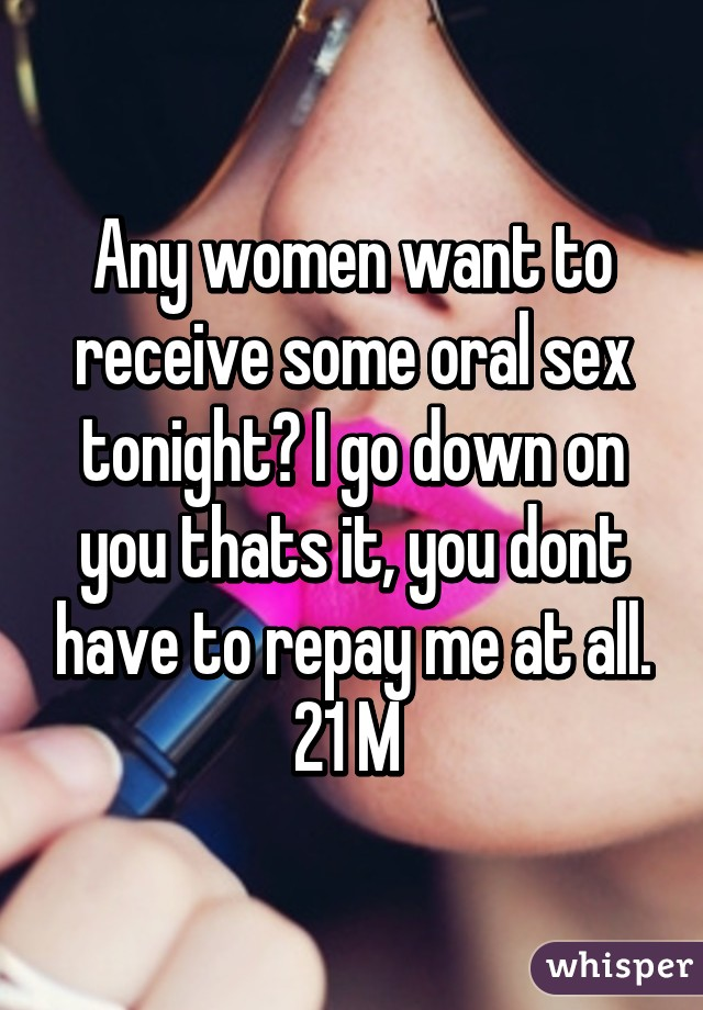 Women who want to have sex tonight