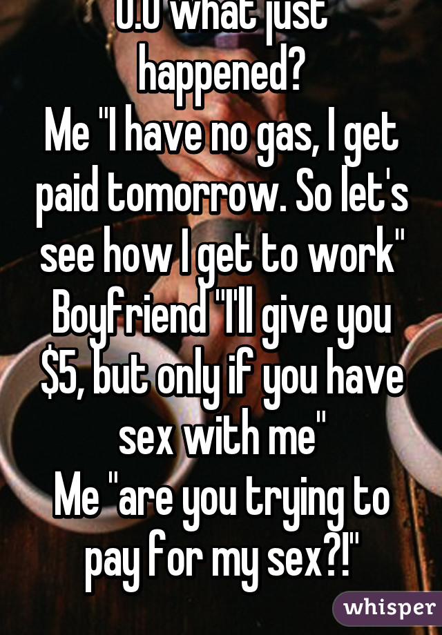 How do i get paid for sex