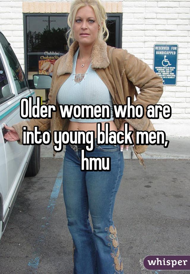 Older Women With Black Men