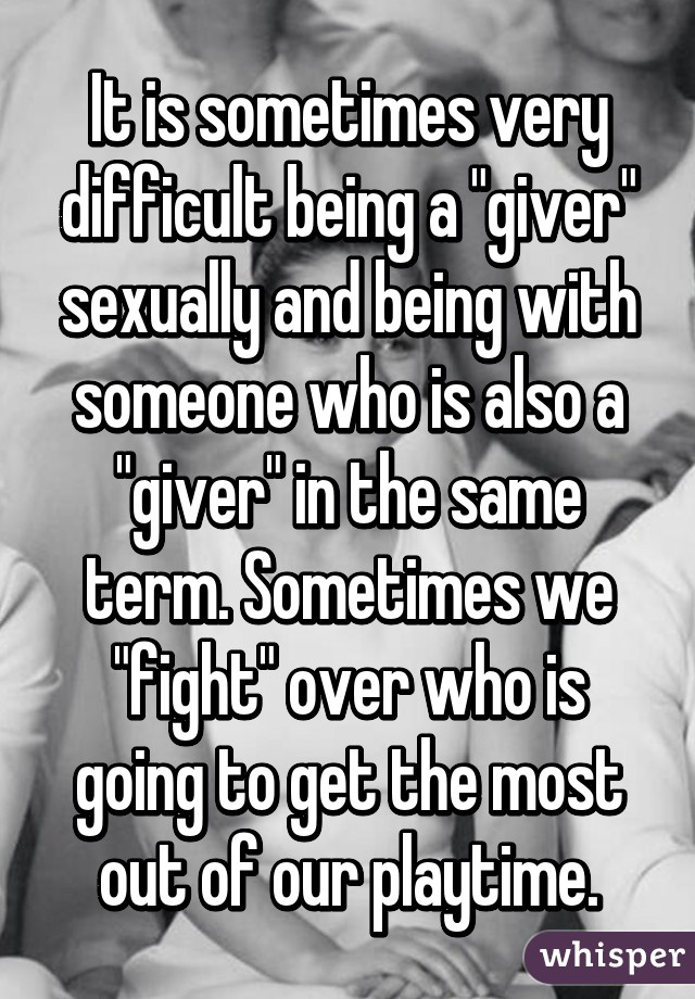 who is a giver