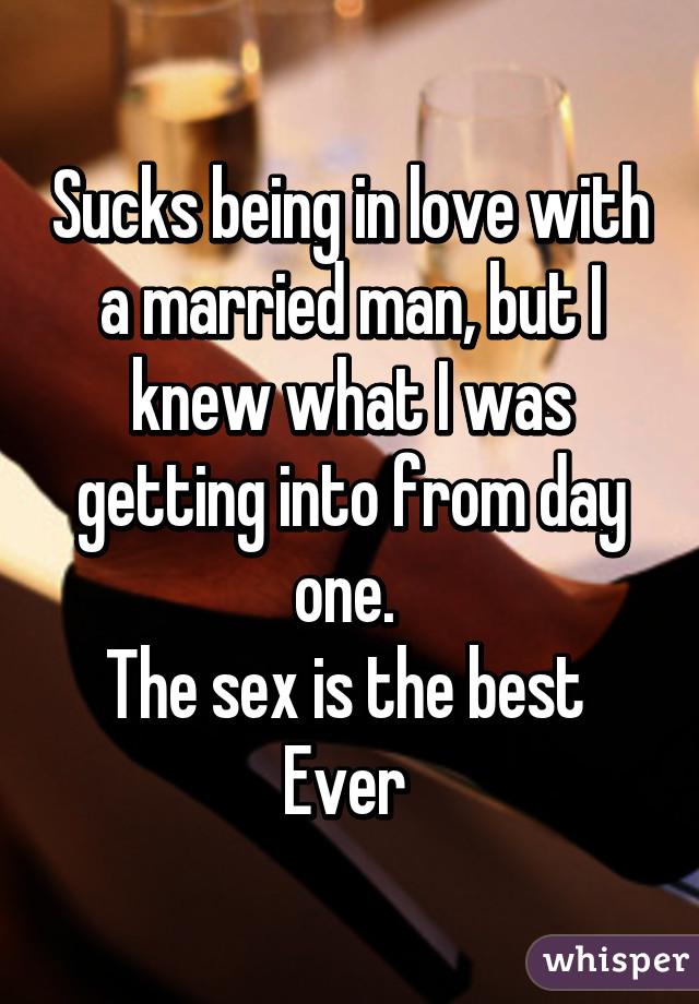 Sucking a married man