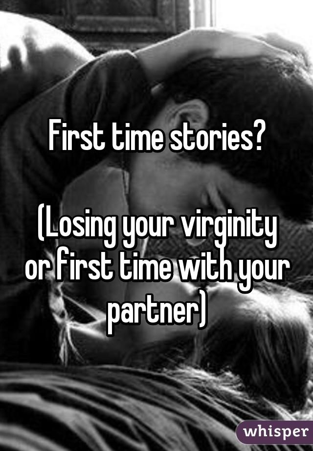 Free virginity losing stories