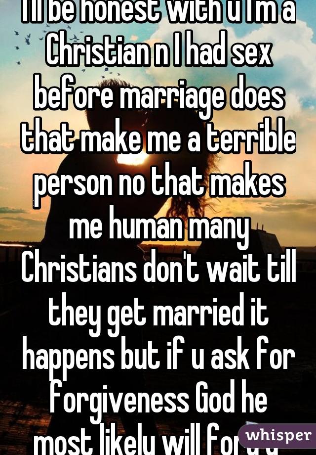Christian had i im sex