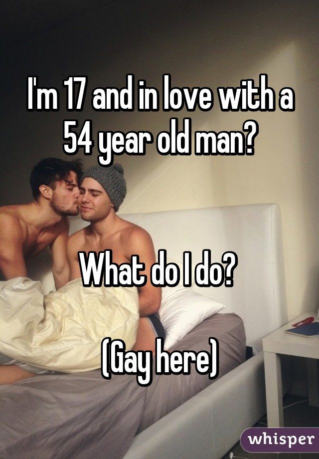Love old man gay
