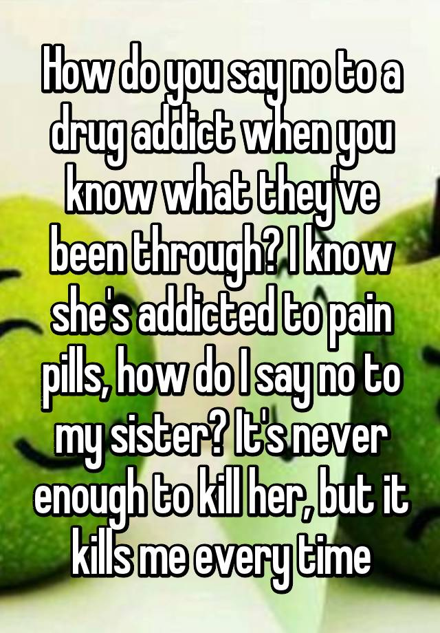 addictio to pain pills