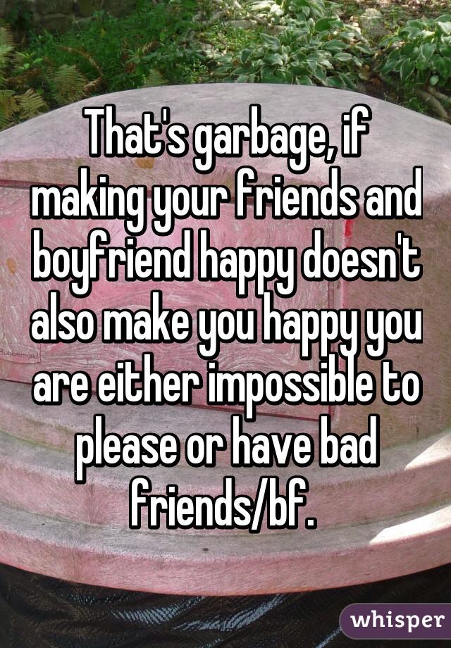 what makes boyfriends happy