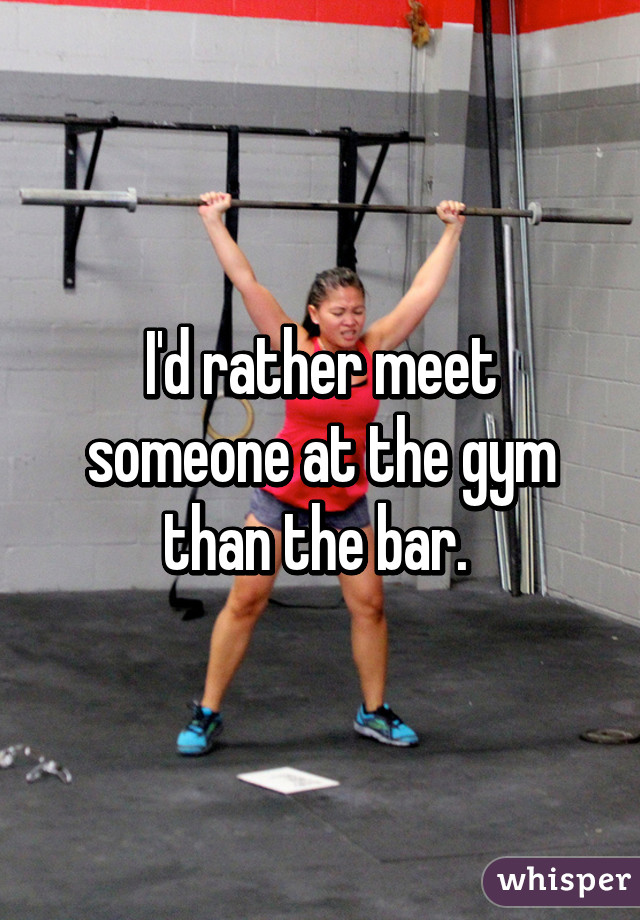 Is The Gym A Good Place To Meet Someone