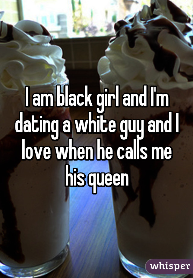 Im Black And Dating A White Guy