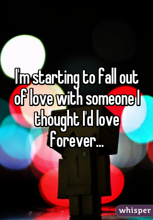 How to fall out of love with an ex