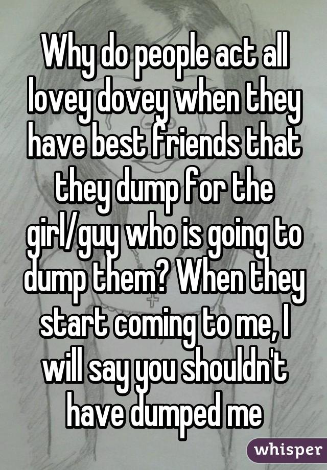 Best way to dump a girl