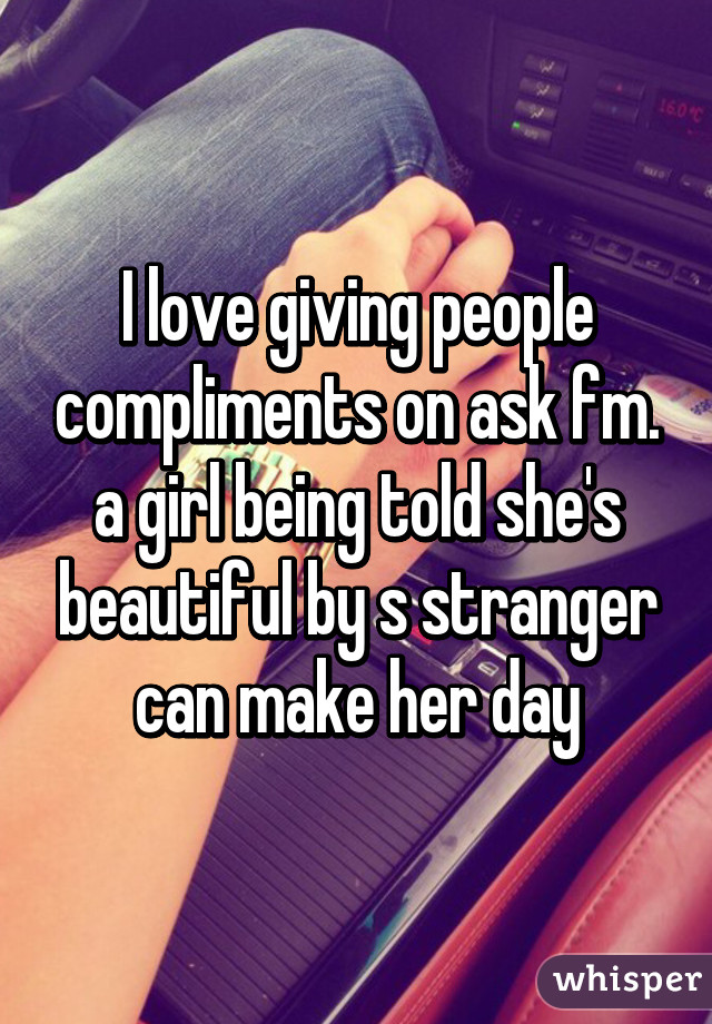 Compliments For Beautiful Girls