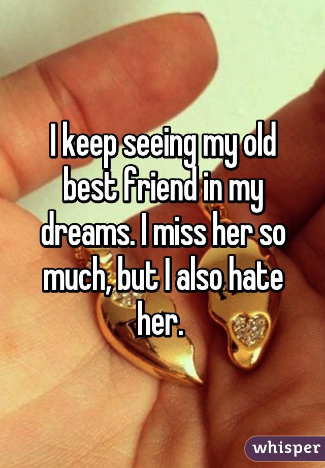 dreams about ex friends
