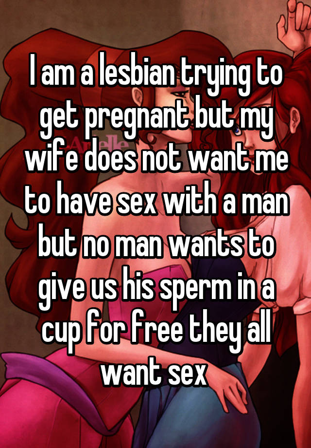 Lesbians trying to have sex