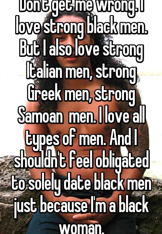 Greek men love black women
