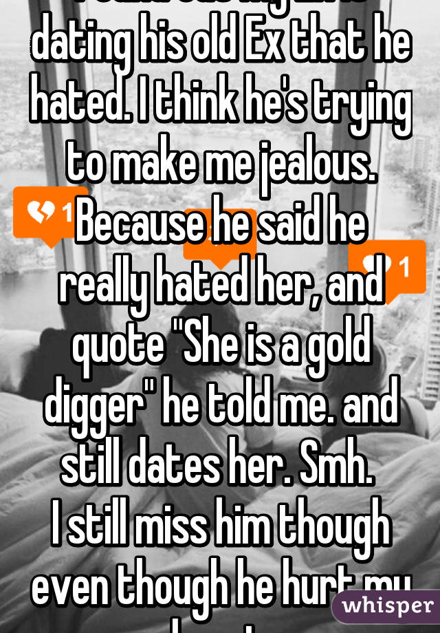Is my ex jealous