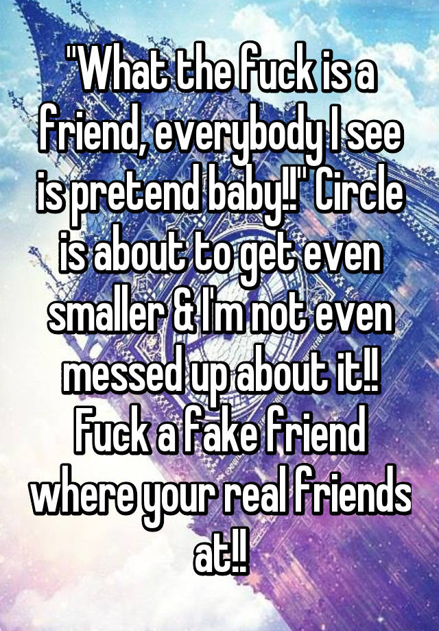 What is a fuck friend