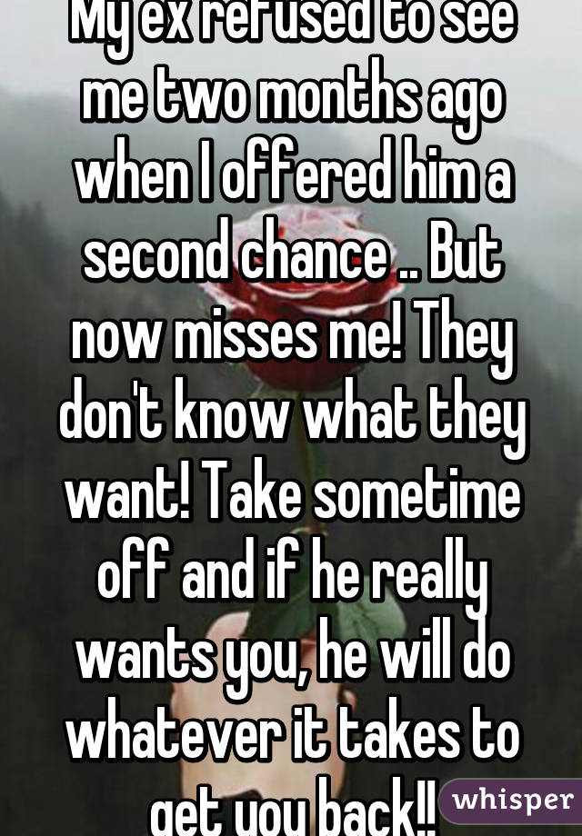 How to know if he really wants you back