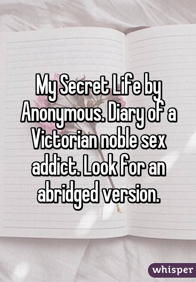 My secret life with a sex addict images 403