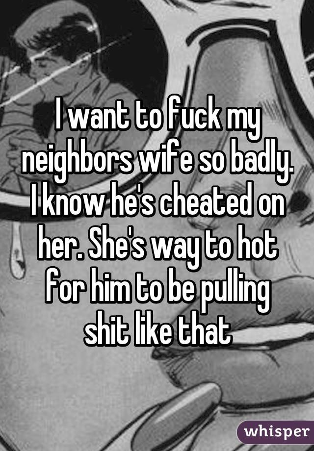 neighbors caption Fucking wife