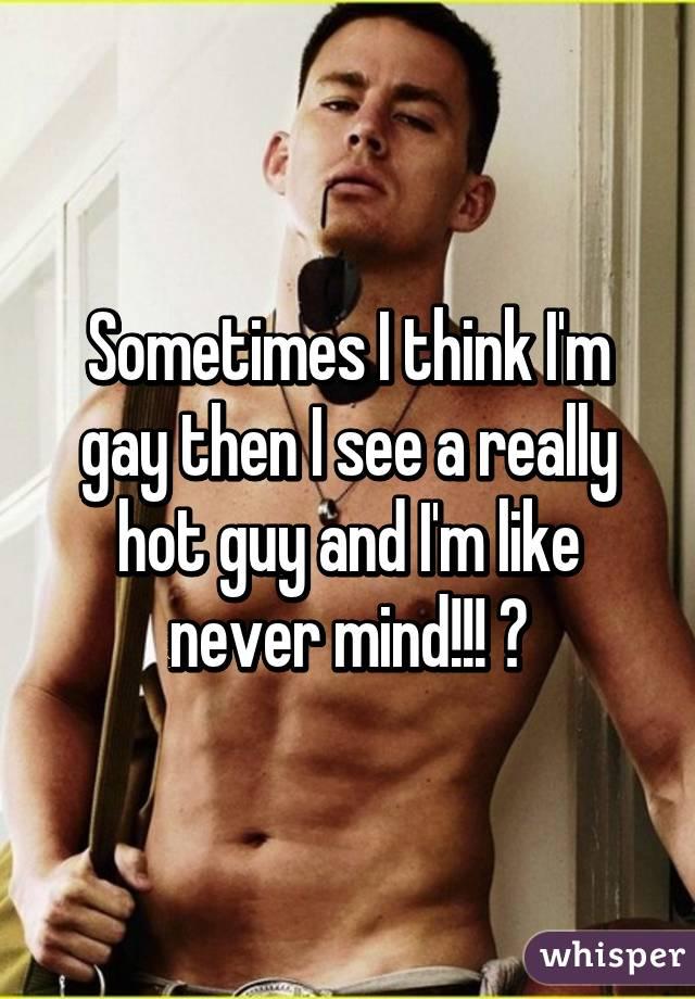 Really gay guy