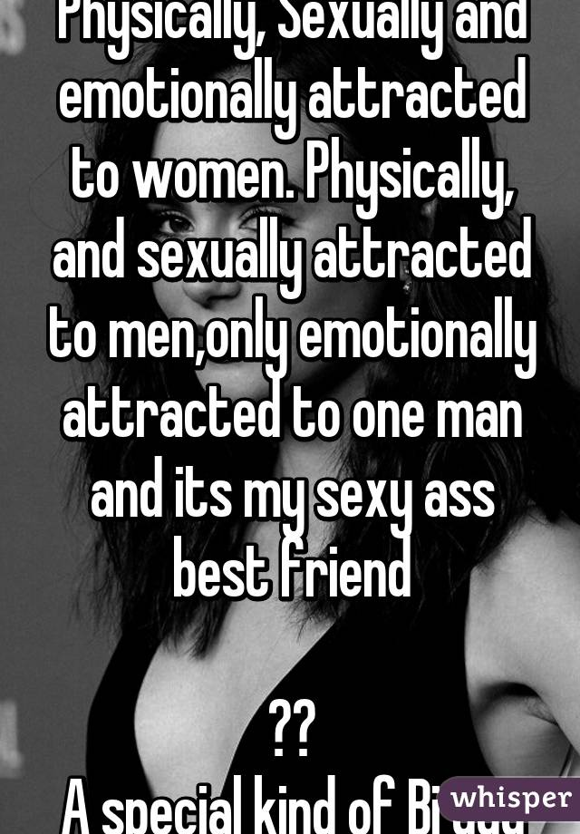 emotionally attracted to women