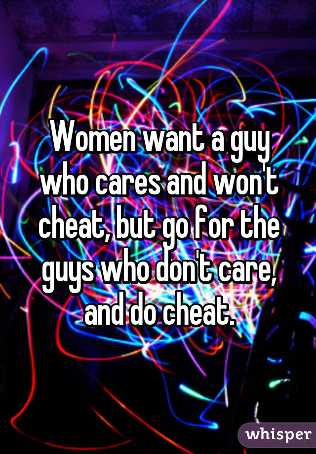 How to find women who want to cheat