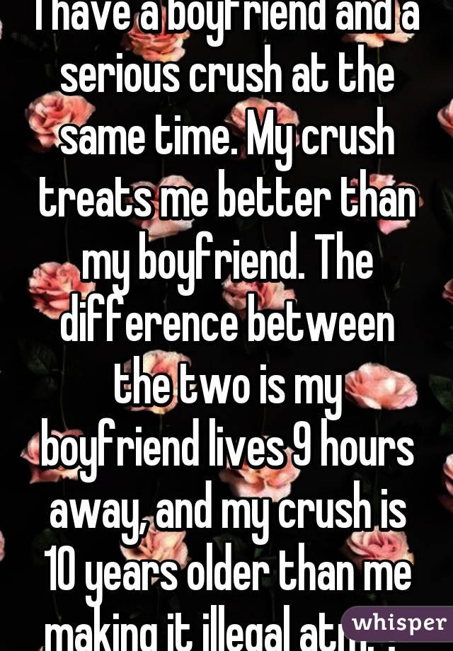 my boyfriend is 10 years older than me