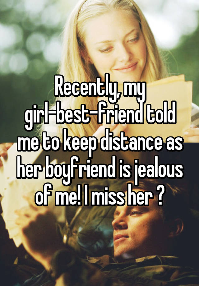 how to keep distance from girl
