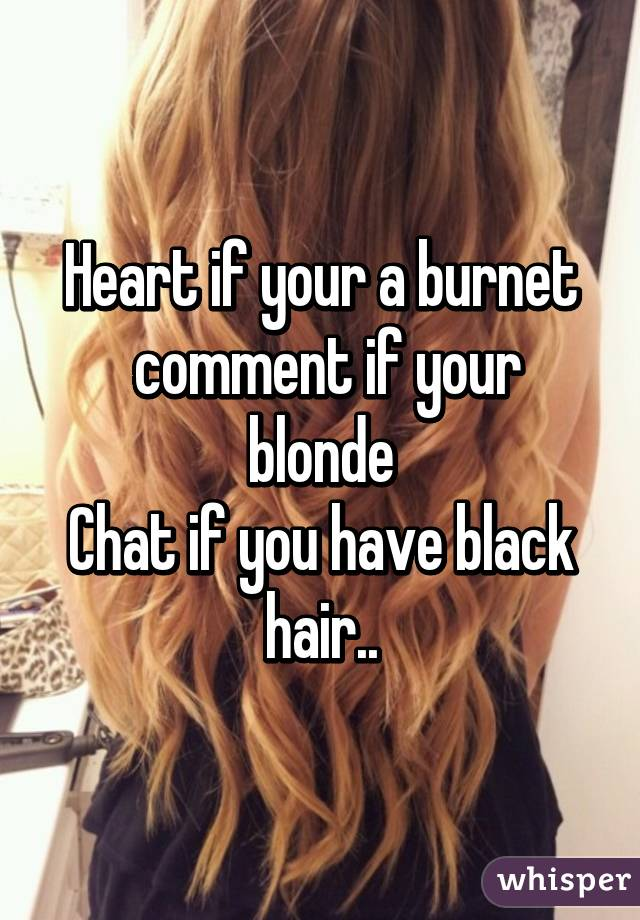 Blonde chat