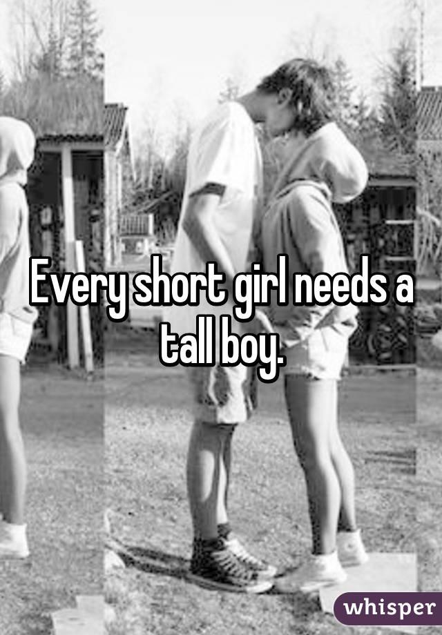 Short Girl Tall Boy