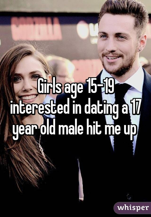 Dating 17 year old