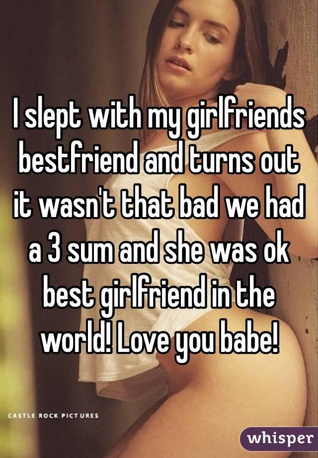 Fucked My Best Friends Girl
