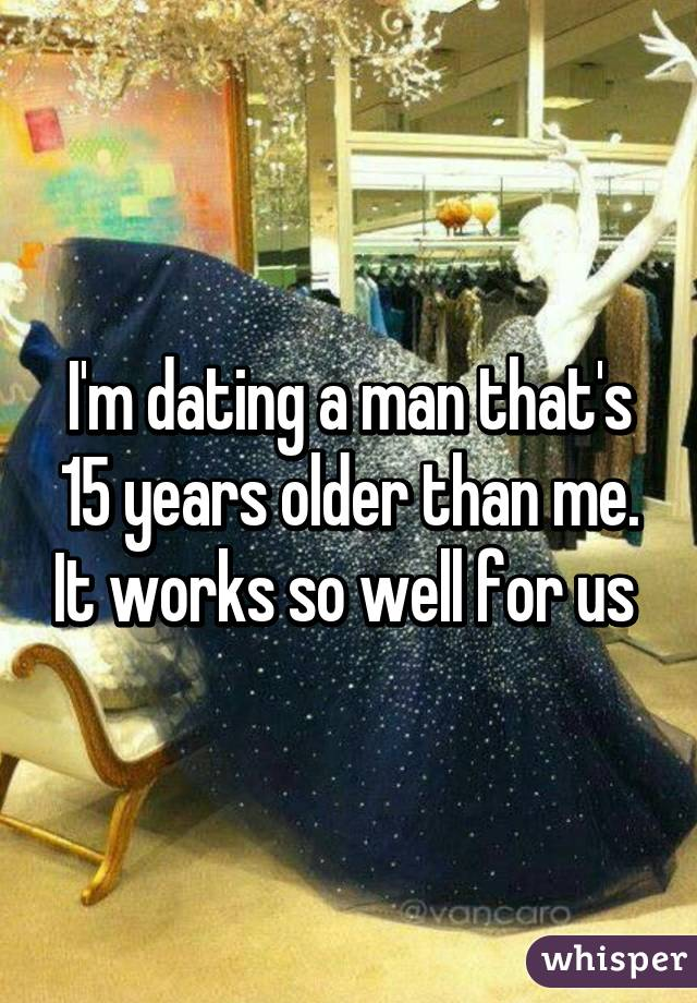 im dating someone 15 years older