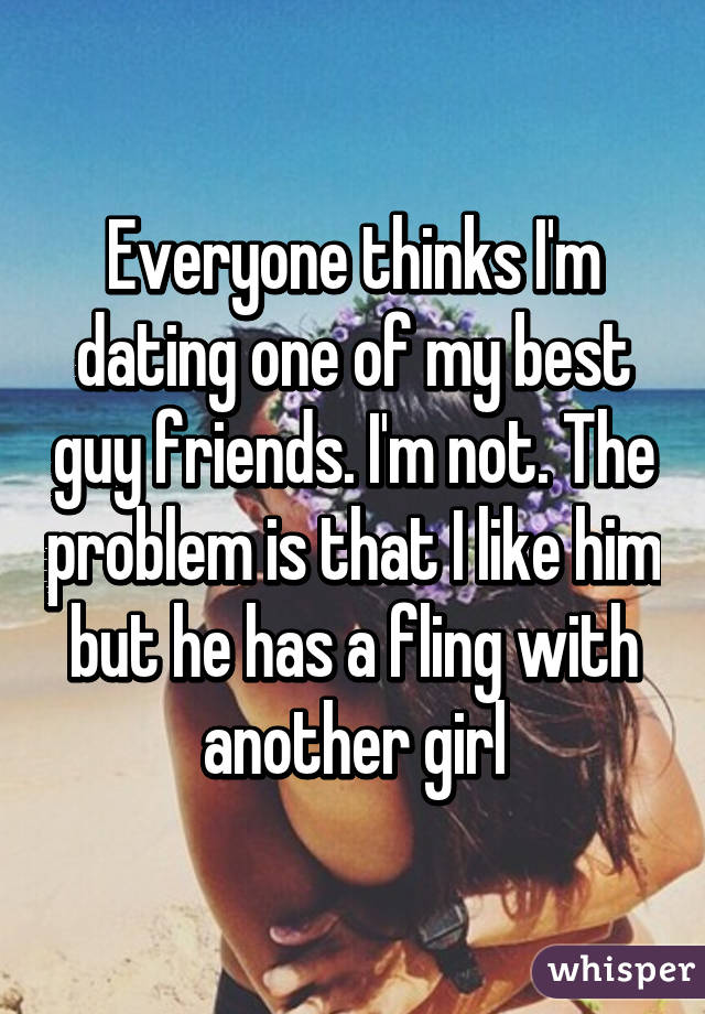 My best guy friend is dating another girl