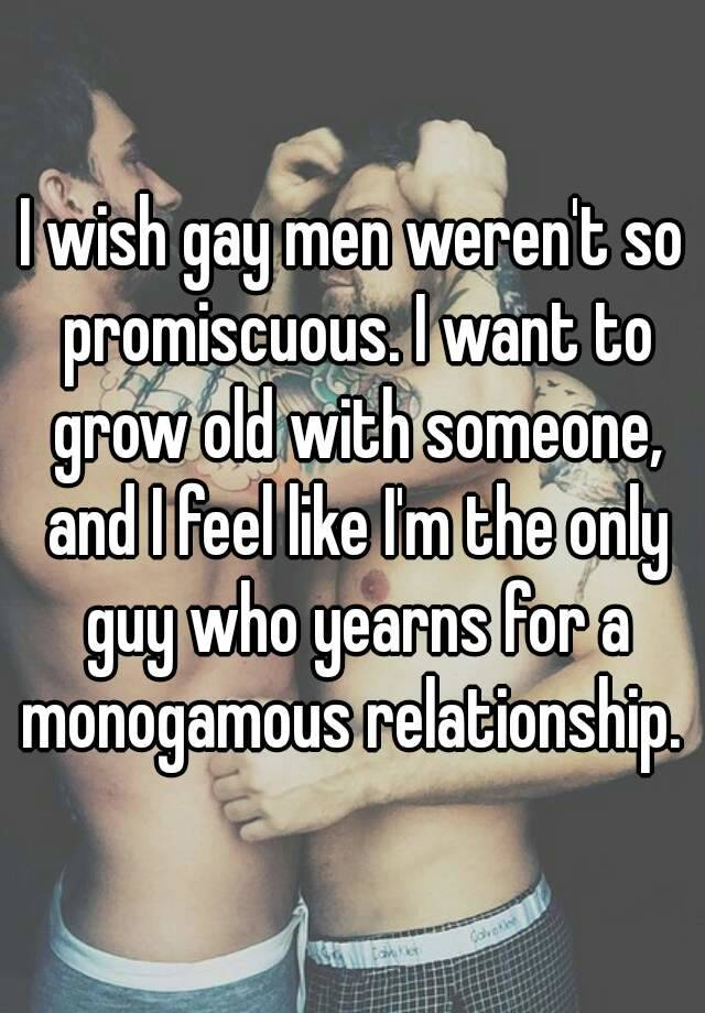 promiscuious Gay relationship