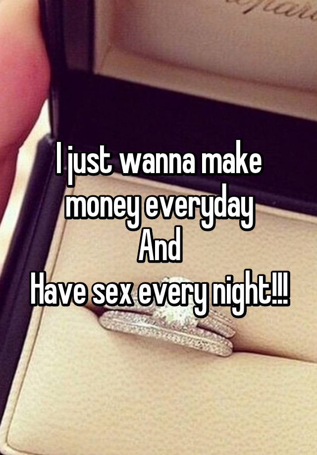 How to make money by sex