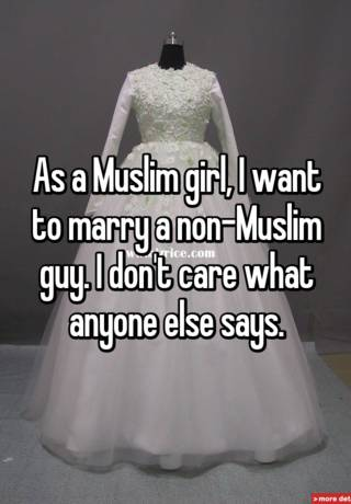 I want to marry a muslim girl