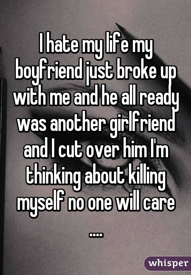 Thoughts of killing my boyfriend